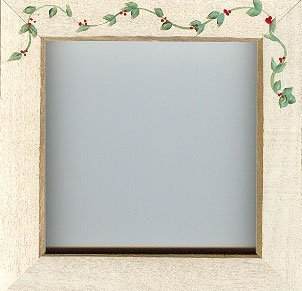 "Mill Hill Antique White Berry Vine 6"" Frame"
