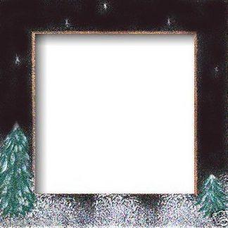 """Mill Hill Winter Night 6"""" Frame"""
