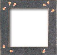 "Mill Hill Matte Black Candycorn 6"" Frame"