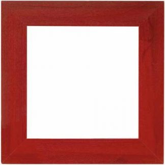 "Mill Hill Holiday Red 6"" frame"
