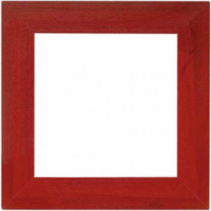 """Mill Hill Holiday Red 6"""" frame"""