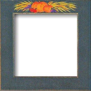 """Mill Hill Matte Green Pumpkins 6"""" Frame"""
