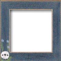 "Mill Hill Matte Blue Sheep in Meadow 6"" Frame"