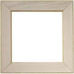 """Mill Hill Taupe 6"""" Frame"""