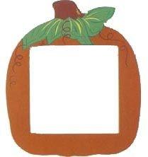 Mill Hill Orange Pumpkin Frame