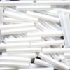Mill Hill Large Bugle Beads 90479 White