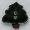 Mill Hill Ceramic Button 86007 Christmas Tree