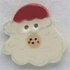 Mill Hill Ceramic Button 86008 Santa Face