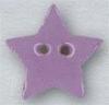 Mill Hill Ceramic Button 86409 Small Lilac Star