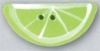 Mill Hill Ceramic Button 86424 Lime Slice