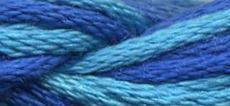 Northern Lights Silk 007 Sea Blue