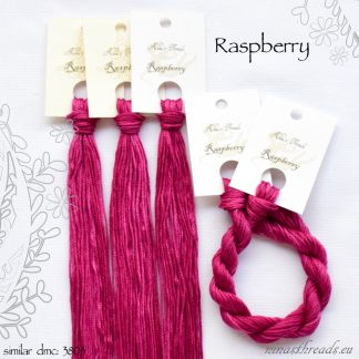 Nina's Threads Raspberry Cotton Floss