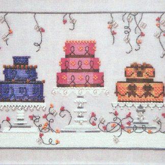 NC187 Garden Party Cakes by Nora Corbett