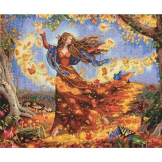 Dimensions 35262 Fall Fairy
