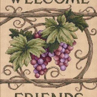 Welcome Friends from Dimensions Crafts