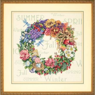 Wreath of All Seasons from Dimensions