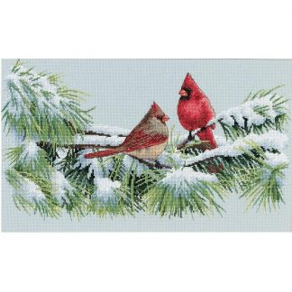 Winter Cardinals from Dimensions