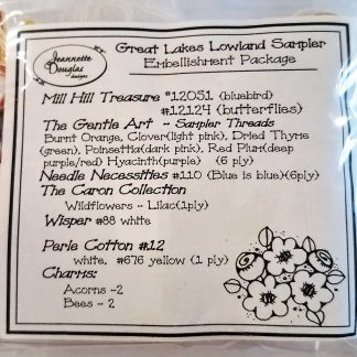 Great Lakes Lowland Sampler Embellishment Pack