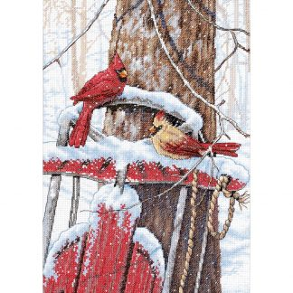 Cardinals on Sled from Dimensions