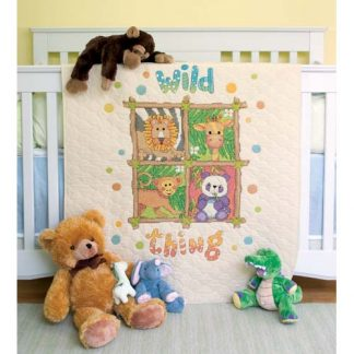 Wild Thing Quilt from Dimensions