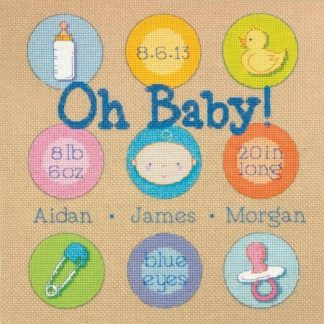 Baby Dots Birth Record from Dimensions