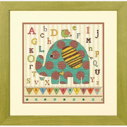 Baby Elephant ABC from Dimensions