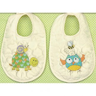 Woodland Creatures Bibs from Dimensions