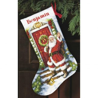 Welcome Santa Stocking from Dimensions