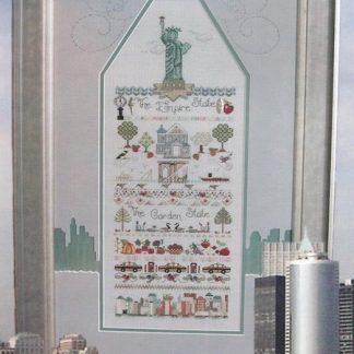 New York New Jersey Sampler from Jeannette Douglas Designs