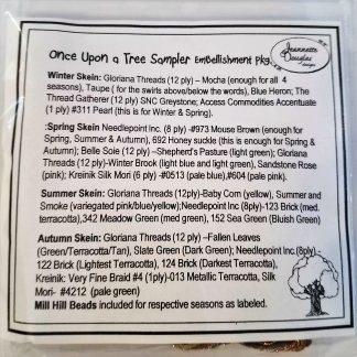 Once Upon a Tree Sampler Embellishment Pack