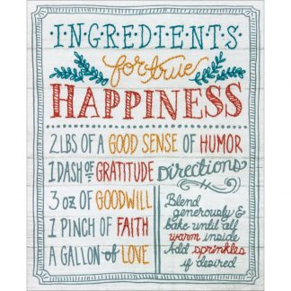 Ingredients for Happiness from Dimensions