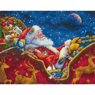 Santa's Midnight Ride from Dimensions