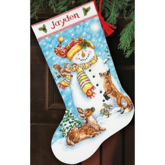 Winter Friends Stocking from Dimensions