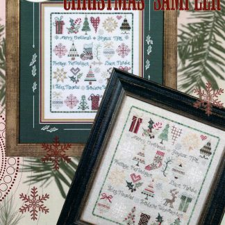 Christmas Sampler from Jeannette Douglas