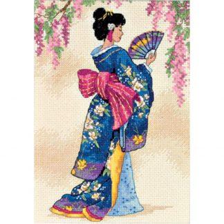 Elegant Geisha from Dimensions