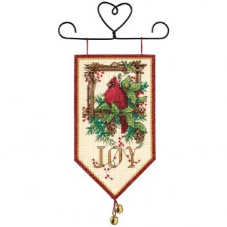 Cardinal Joy Mini Banner from Dimensions