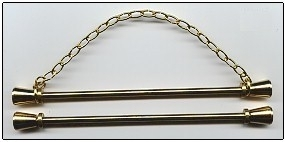 Brass Satin Bellpull