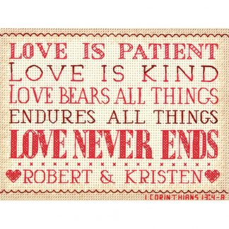 Love is Patient from Dimensions