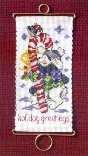 Holiday Greetings Bunny