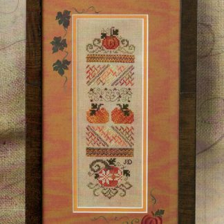 Mini Pumpkin Stitches by Jeannette Douglas