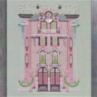 Pink Edwardian House by Nora Corbett
