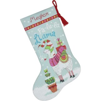 Llama Stocking from Dimensions